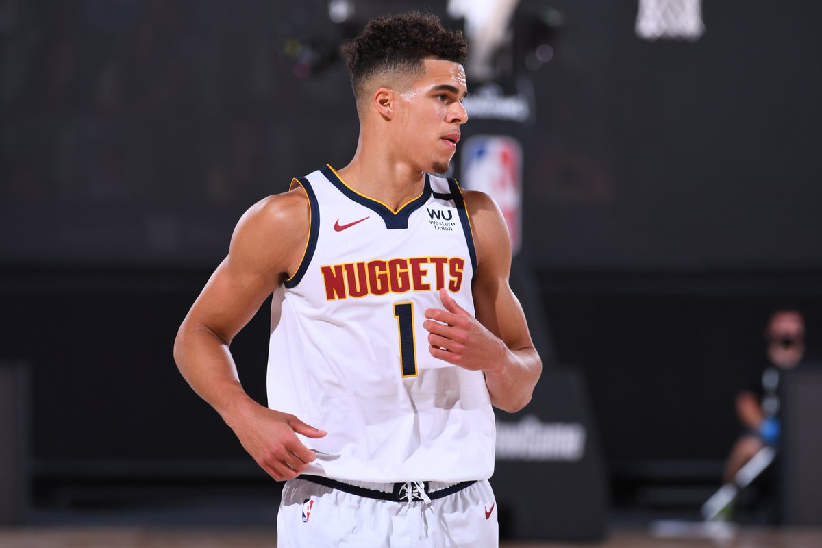 During the restart, the Nuggets have been 19.7 points per 100 possessions better with Michael Porter Jr. on the court.  4:00pm/et: IND/HOU, NBA TV 6:30pm/et: TOR/PHI, ESPN 9:00pm/et: LAC/DEN, ESPN  Tune-In Tidbits: https://t.co/k2vRQAKdnK https://t.co/ufmjhhrt7Y
