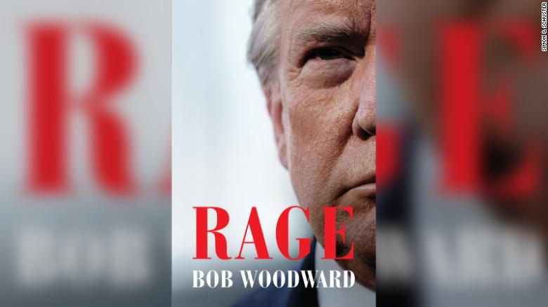 """Just revealed by @jamiegangel and @elizabethstuart: The title and cover for Bob Woodward's new book about Trump. """"RAGE"""" comes out on September 15  https://t.co/kmAmFzN13W https://t.co/eBWeVEmWwd"""