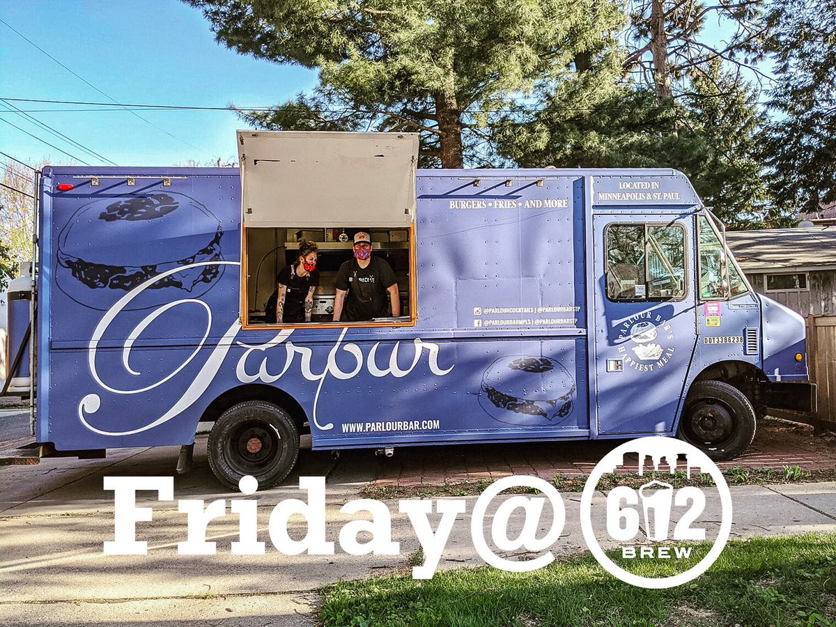We're excited to have @parlourfoodtruck this Friday the 14th! Come on down to the patio and enjoy one of there famous burgers and a tasty brew. They also have preorder if you'd like to safely grab dinner to go.  https://t.co/E6M3xAOQnT https://t.co/o9S7infgH7