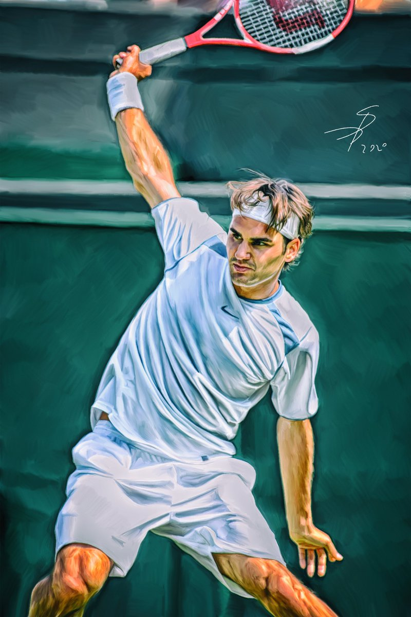 This art will be on February in my 2021 Calendar called Wimbledon means Federer. Preorder will be open soon)  @norinchi_df @rogerfederer @Wimbledon   #RogerFederer #Digitalart #artwork #Wimbledon #myartwork #calendar2021 https://t.co/hwHbZTQaF4