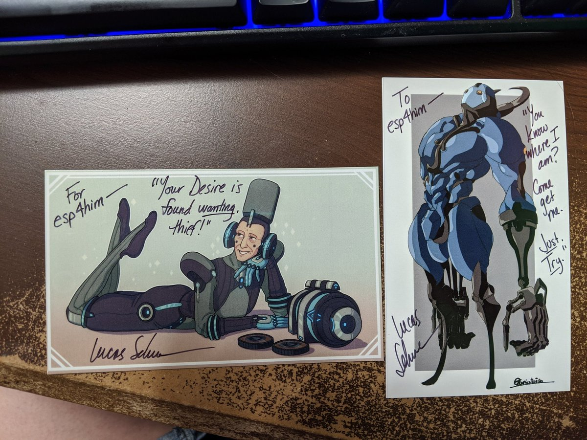 RT @esp4him: Got my @LucasTheVANinja #tennocon2020 autographs in the mail :) https://t.co/5MzzIKSv7w