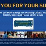 Image for the Tweet beginning: Thank you Duke Energy for