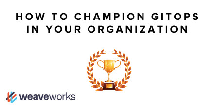 Youve probably heard all about #GitOps and realize its the most efficient way for development teams to go faster without them having to become Kubernetes gurus. Learn some of the ways you can champion #GitOps for self-service platforms in your org. bit.ly/2XsPpCt