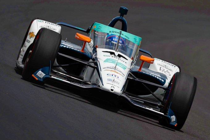 Fernando Alonso entre los mejores en el arranque del segundo día en Indycar 5º / Vídeo