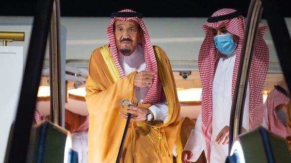Saudi Arabia's King Salman arrives in NEOM https://t.co/89B0vmeH5A https://t.co/qNVNawOPJg