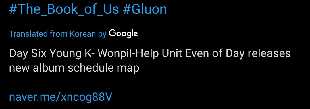@day6official YoungK-Wonpil-Help.... poor Dowoon, google translate failed! https://t.co/jCGRT8rmCz