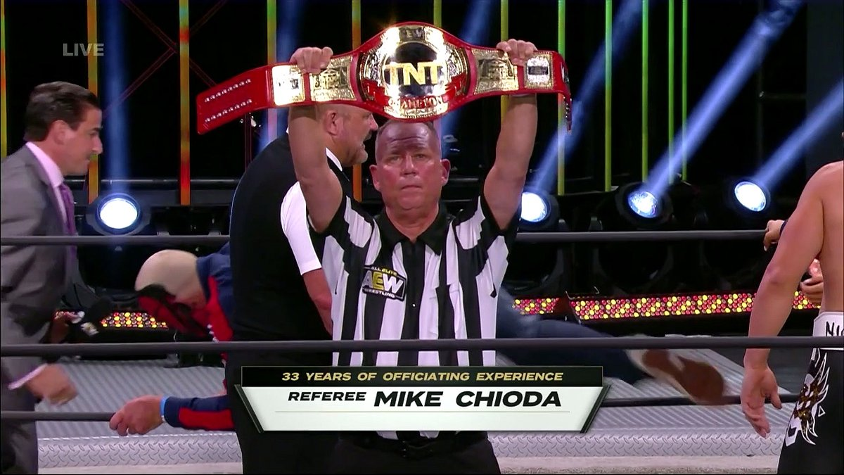 Former Longtime WWE Referee Mike Chioda Shows Up On AEW Dynamite