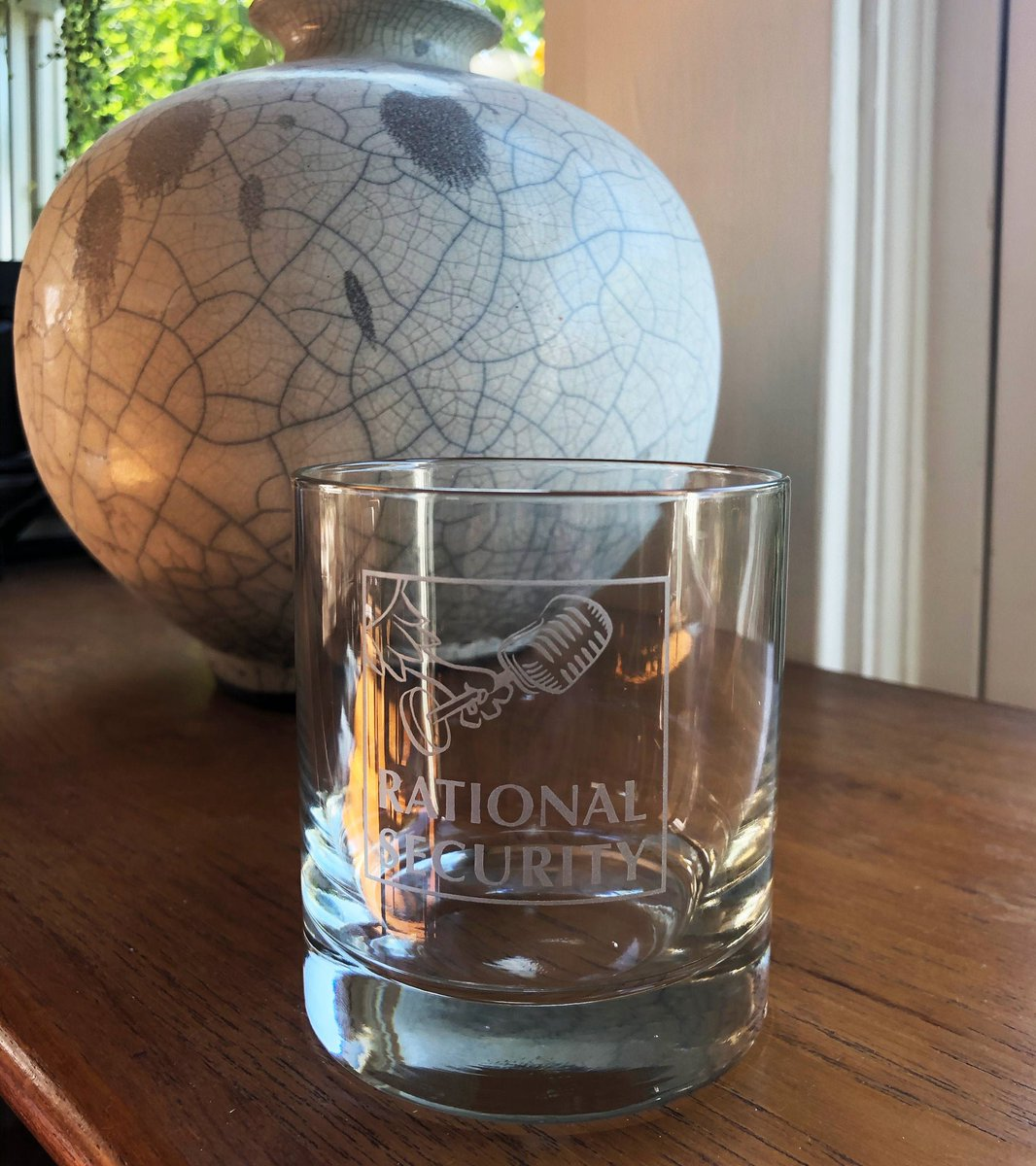 A pleasure to join @shaneharris, @Susan_Hennessey, and @benjaminwittes for today's Rational Security—even though Shane mistook Susan for the sorely missed @tcwittes! I'm not saying it's because of a potent potable in Shane's RatSec glassware. (But I'm not NOT saying it either.) twitter.com/ratlsecurity/s…
