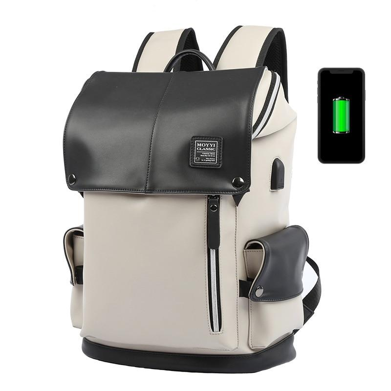 😍 Fashion USB charging PU Leather Men Backpack Casual School Bags for Teenager... 😍 at $43.90.  Show now 👉👉 https://t.co/Uo6bM0Usdj  #likes #follow #followback #summer #love #like #like4lik https://t.co/2eqr5PiJbP