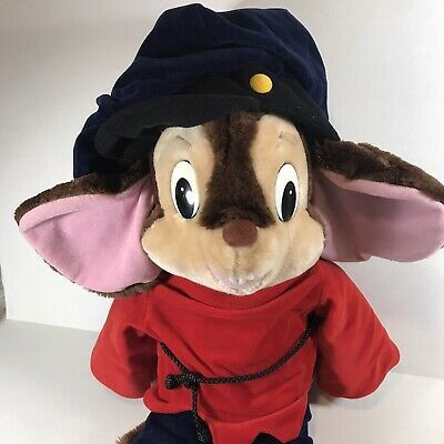 """Fievel Mouse Plush Stuffed Animal """"Mousekewitz"""" - A Sears Exclusive from American Tail 1986 - Available on #eBay https://t.co/B3r0xyixep #shopsmall #HodgePodgePam #ebayROCteam #ebayfinds #Fievel #AmericanTail   #amblin #mouse #Jewish #universalstudios #80smovies #plush https://t.co/XAWqkmhAHH"""