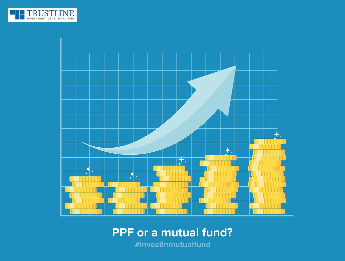 Keep the right combination of equity (through mutual funds) and debt (through PPF). PPF carries a floating rate - the interest rate can go up/down. However, mutual funds can better your chances of reaching your goal with higher returns #investinmutualfund  https://t.co/14tekd3bbr https://t.co/VyY1o0K355