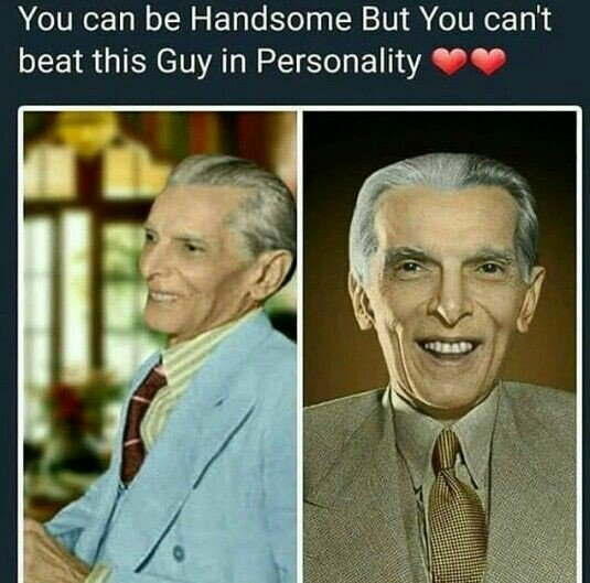 """His personality itself speaks """"I'M THE TRUE LEADER""""... love and respect... May his souls rest in peace, Ameen #quiadeazam #14august #14august1947 #14august2020 #independenceday2020  #pakistani #pakistanzindabad  #pakistanday #ImranKhanJusticeCAIE https://t.co/x4O7cCryFj"""