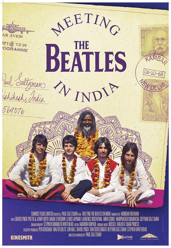 "The Beatles Polska: Ukazał się zwiastun filmu ""Meeting The Beatles In India"""