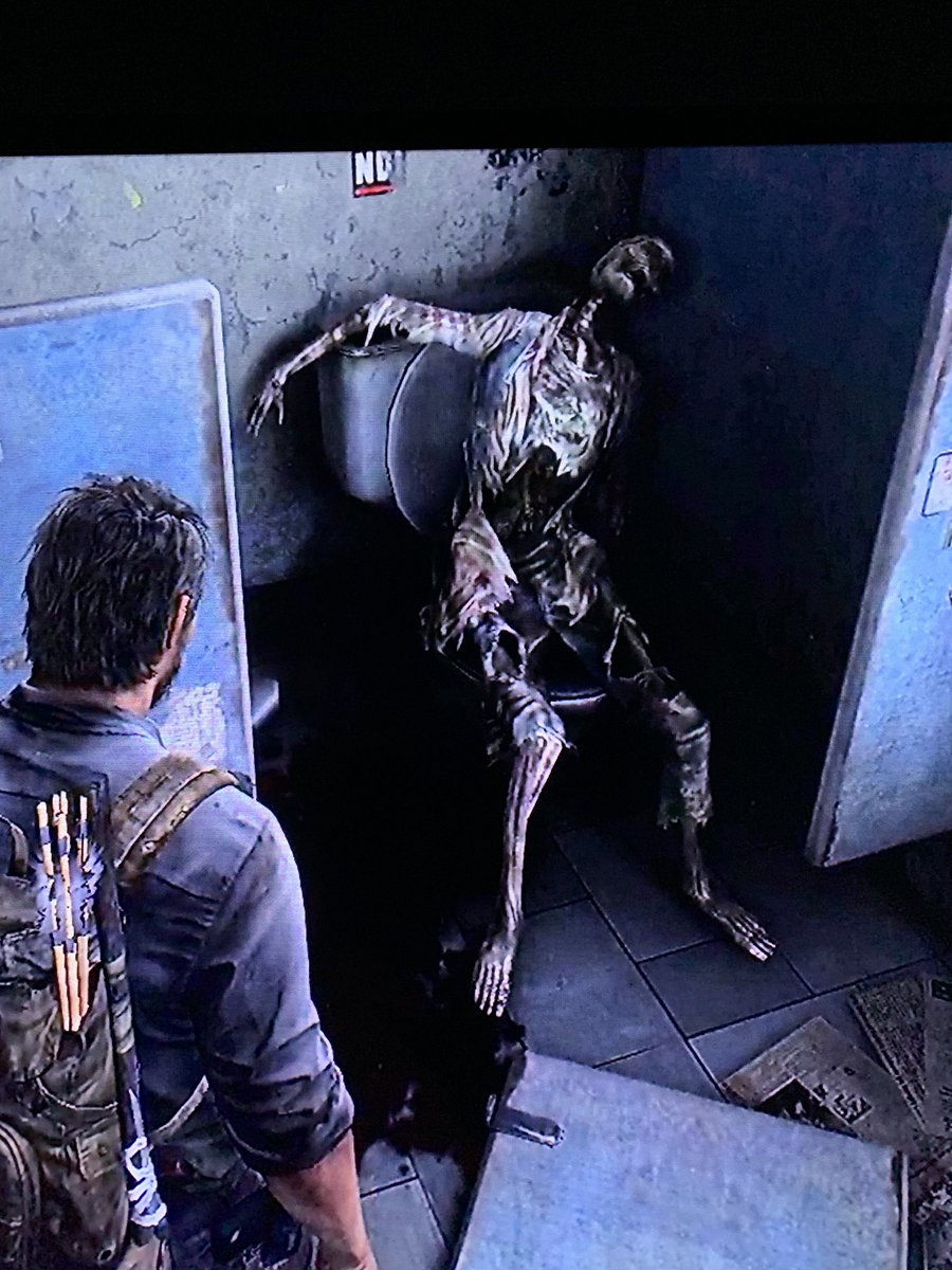 This is probably how people plan to die during a #pandemic ... alone on the toilet with their toilet paper.  #TheLastofUs https://t.co/tU0aNCyf5u