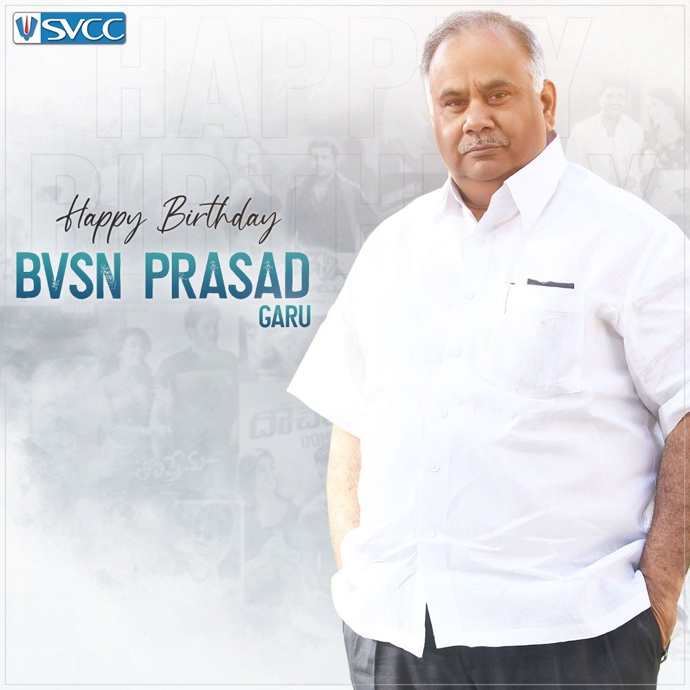 Happy Birthday @BvsnP uncle... Have a safe healthy and blockbuster year ahead 😊😊😊💐💐💐 https://t.co/xccWfC7BHW