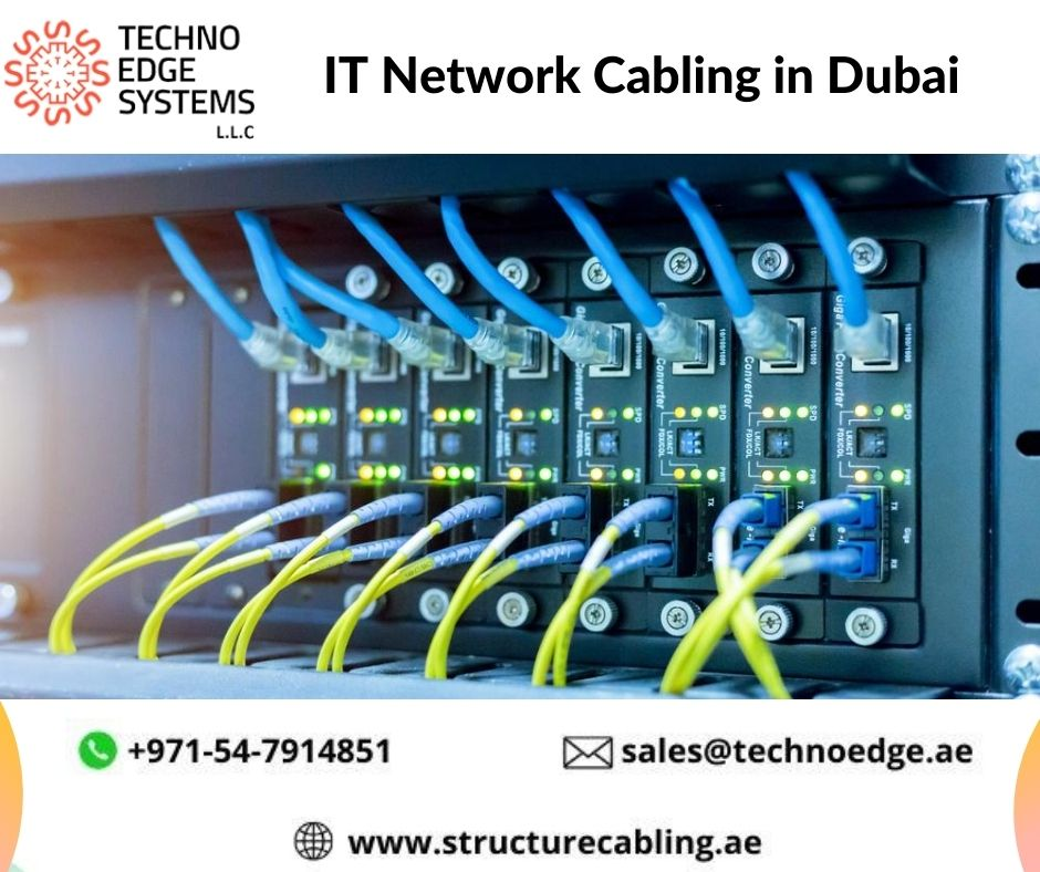 Techno Edge Systems maintains complete IT Network Cabling Solutions and our ultimate goal is to meet customer satisfaction.  Visit: https://t.co/5uSFUf69NF #ITCablinginDubai #ITNetworkCablinginDubai #Dubai #UAE #Cabling #internationalyouthday #تطوع_بتخصصك #اليوم_العالمي_للشباب https://t.co/EiERDDYCzH