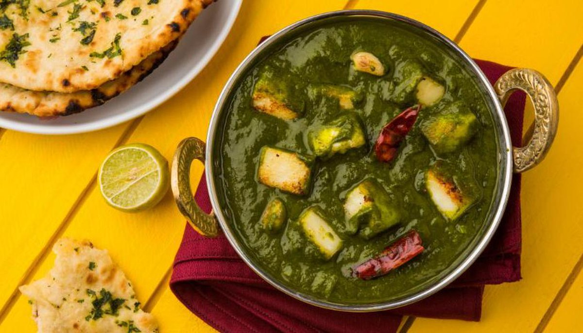 Kafuli. This dish is a boon for all the diet-conscious people out there. Yes, it is that nutritious. Kafuli is a famous food of Uttarakhand that all locals swear by. #BespokeIndiaHolidays #food #foodie #Uttarakhand #incredibleindia #Tourist #traveling #indianfood https://t.co/8X5sUBFKON