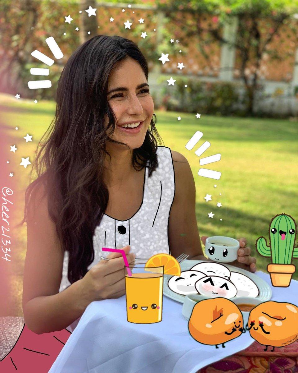 Wake up and its food O'clock✨ @kartinakaif #postquarantine #like #love #follow #instagood #likes #newpost #picsart #photo #insta #comment #share #cute #foodie #life #idli #picoftheday #cute #repost #edit  #food  #animated #illustration # #adimated #katrinakaif https://t.co/lFB9gSXXqa