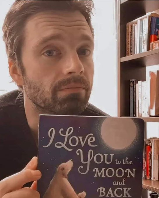 Happy birthday Sebastian Stan. We love you to the moon and back!!!