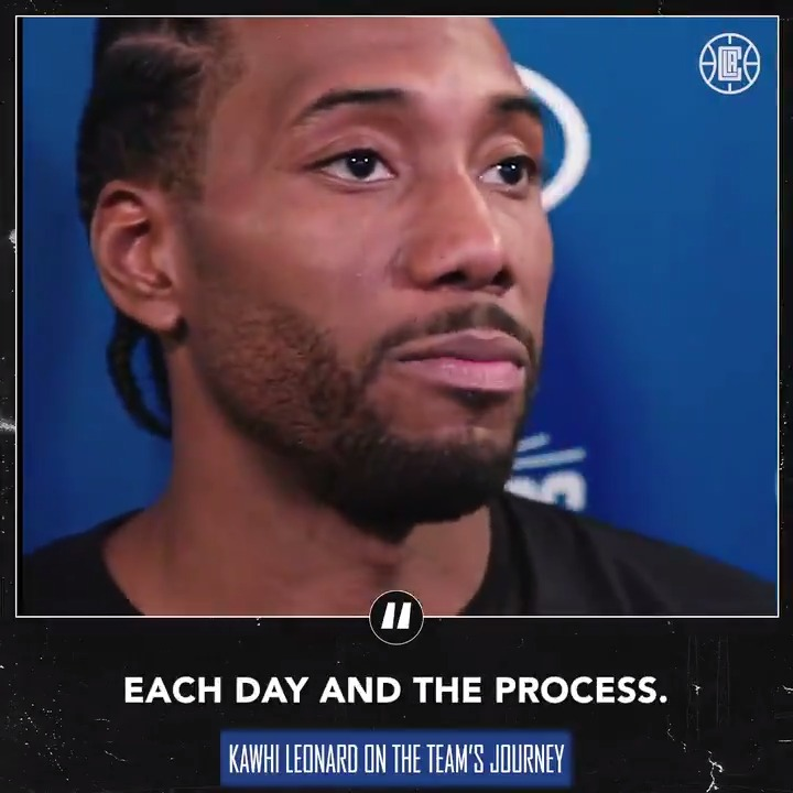 """""""We're still in the journey. We just have to keep enjoying each day and the process."""" https://t.co/bS0Q7wvzkT"""