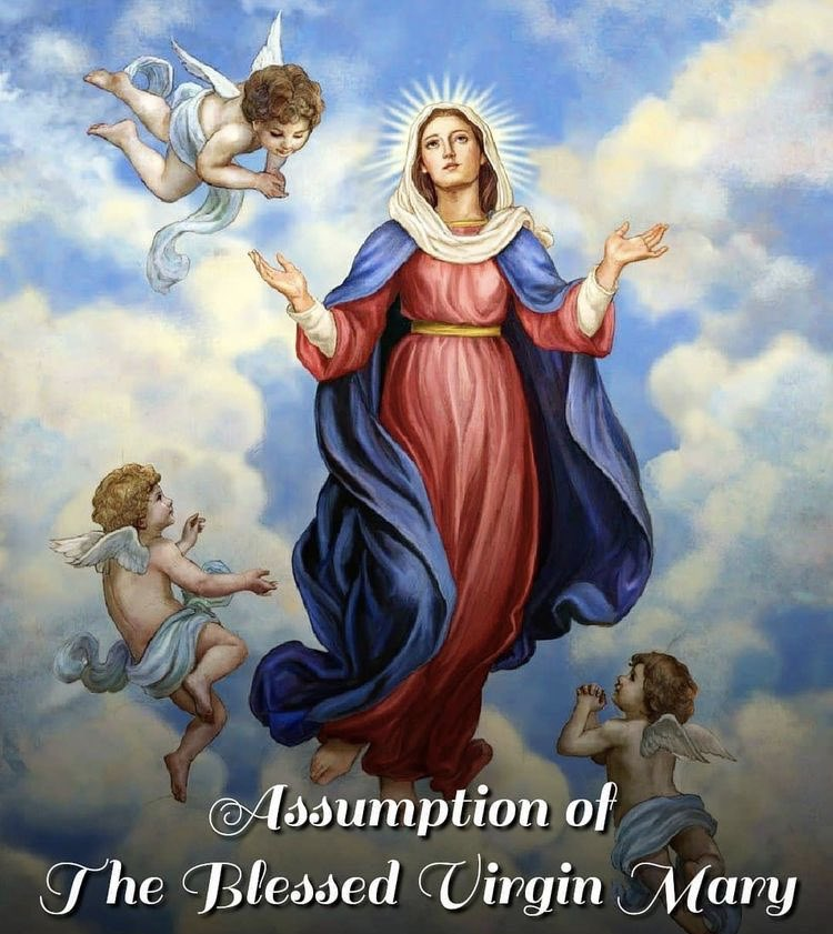 This Saturday, August 15th we celebrate the Feast of the Assumption. It is a holy day of obligation.   Mass times are as follows in St Colman's Cathedral in #Cobh.   Friday 14th August-6pm Vigil  Saturday 15th August 10am also streamed online. #FeastDay https://t.co/bQI6DmOpFx