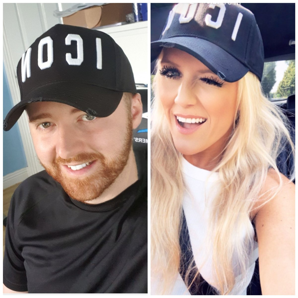 Just realised we are twinning @cascada_music  #Hats #Dsquared2 pic.twitter.com/NFh9mNUvqL