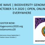 Image for the Tweet beginning: Virtual, free conference on Biodiversity