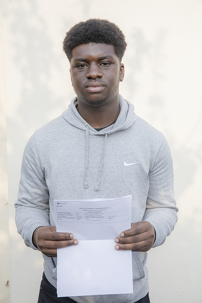 Brilliant to have our first Computer Science undergraduate. Well done Ola!