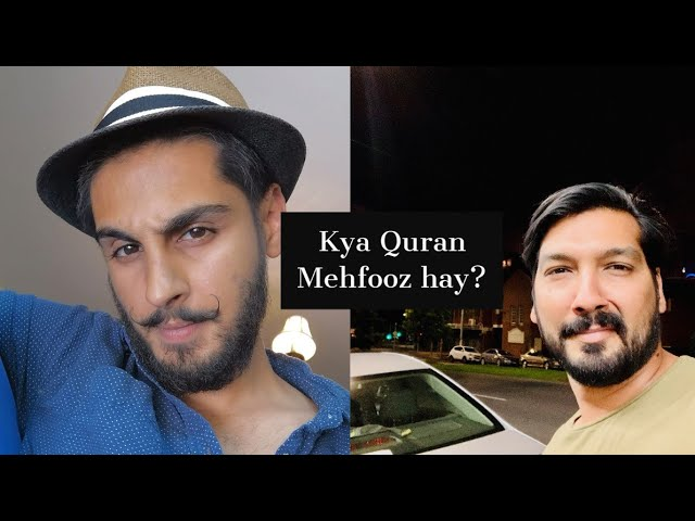 """Is the Quran preserved? Obviously not and I'll have the amazing @XGONDALX destroying the myth """"The Quran is preserved"""" on 22nd of August.  Join us live Lahore 5PM, London 1PM, New York 8AM  https://t.co/eWl7U9FhBz https://t.co/4SLuBU79Ne"""