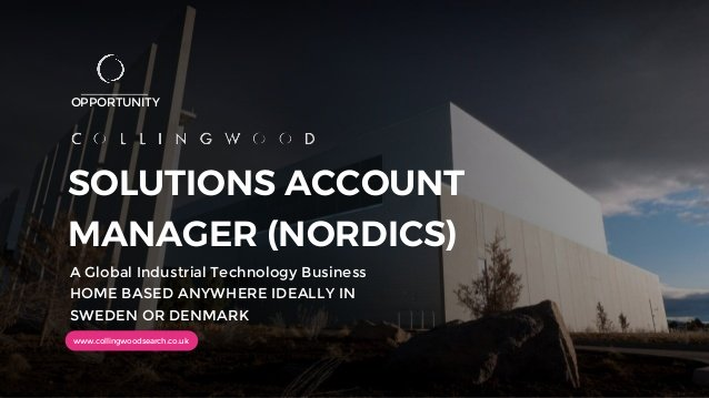 "NEW OPPORTUNITY: We are looking for a high performing ""hunter"" for this SAM role responsible for the Nordics. Ideally based in #Sweden  or #Denmark  Click on the link  for more information and who to call for an initial discussion https://hubs.ly/H0tyBfx0  #technologypic.twitter.com/C4f2qSMPCI"