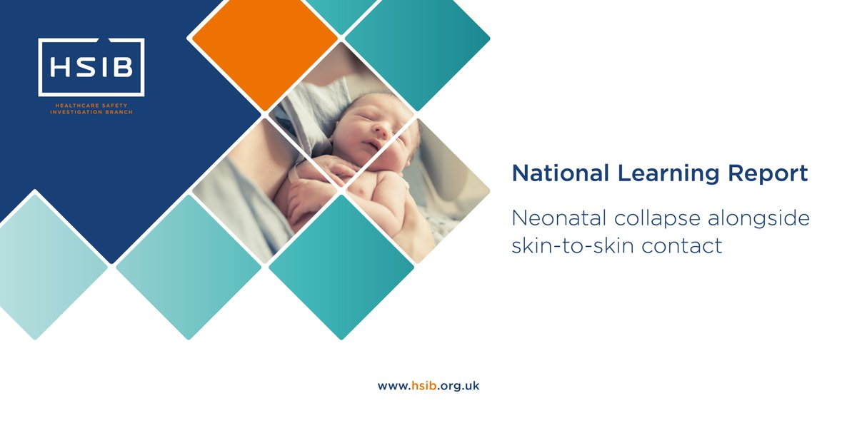 Our latest maternity national learning report is out today. Download it from our website now >> https://t.co/813iyC4BbW #NHS #maternitysafety #skintoskin https://t.co/naVVzzevlL