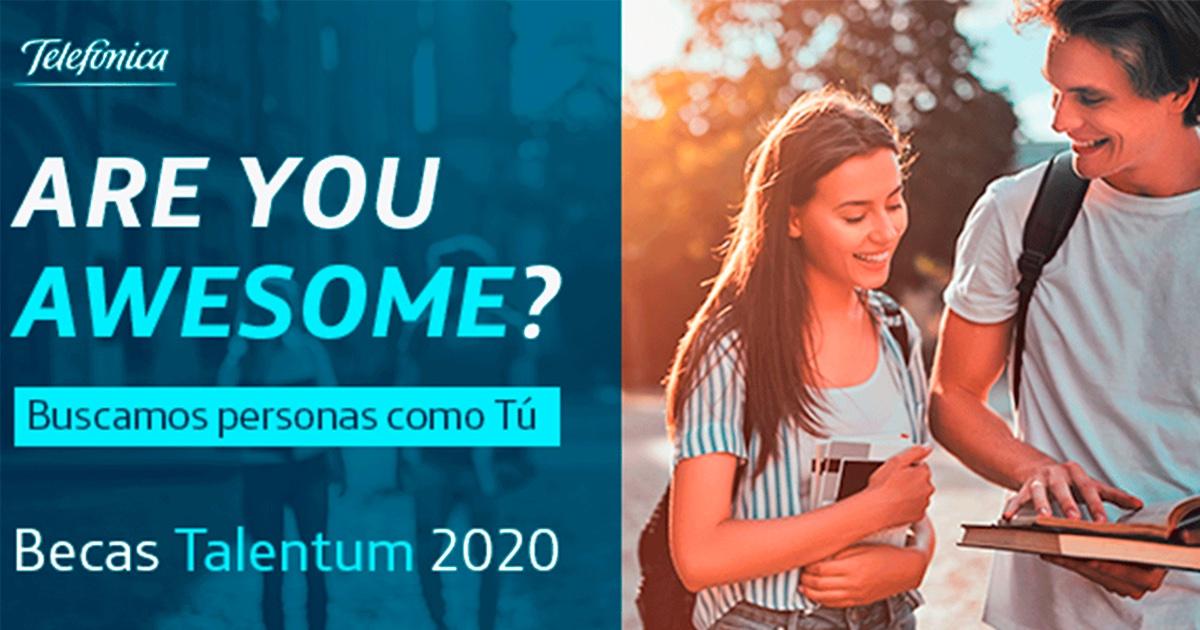 🚨¿Eres estudiante de grado, máster o grado superior de FP y te gustaría participar en la transformación tecnológica actual?  Con las becas Talentum podrás formar parte de nuestro equipo. Plazo abierto hasta el 06/09 👉🏼https://t.co/P9XMP2hOjn https://t.co/cpKYnohwxY