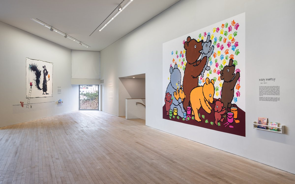 Good morning Cork! Come visit #Viewpoints: Children's Rights in Imaginary Spaces today in our upper gallery🐾! We're open from 11am until 5pm 😊 https://t.co/ZUmf9V4whr https://t.co/5IOC51fd4j