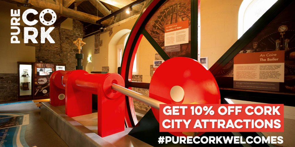 Discover all the fantastic visitor attractions #CorkCity has to offer with this great discount scheme!  For more information check out https://t.co/tio99KPny3 #CorkCityCouncil #IrelandsAncientEast  #PureCorkWelcomes  #OldCorkWaterworks https://t.co/7E7AQ0SCJA