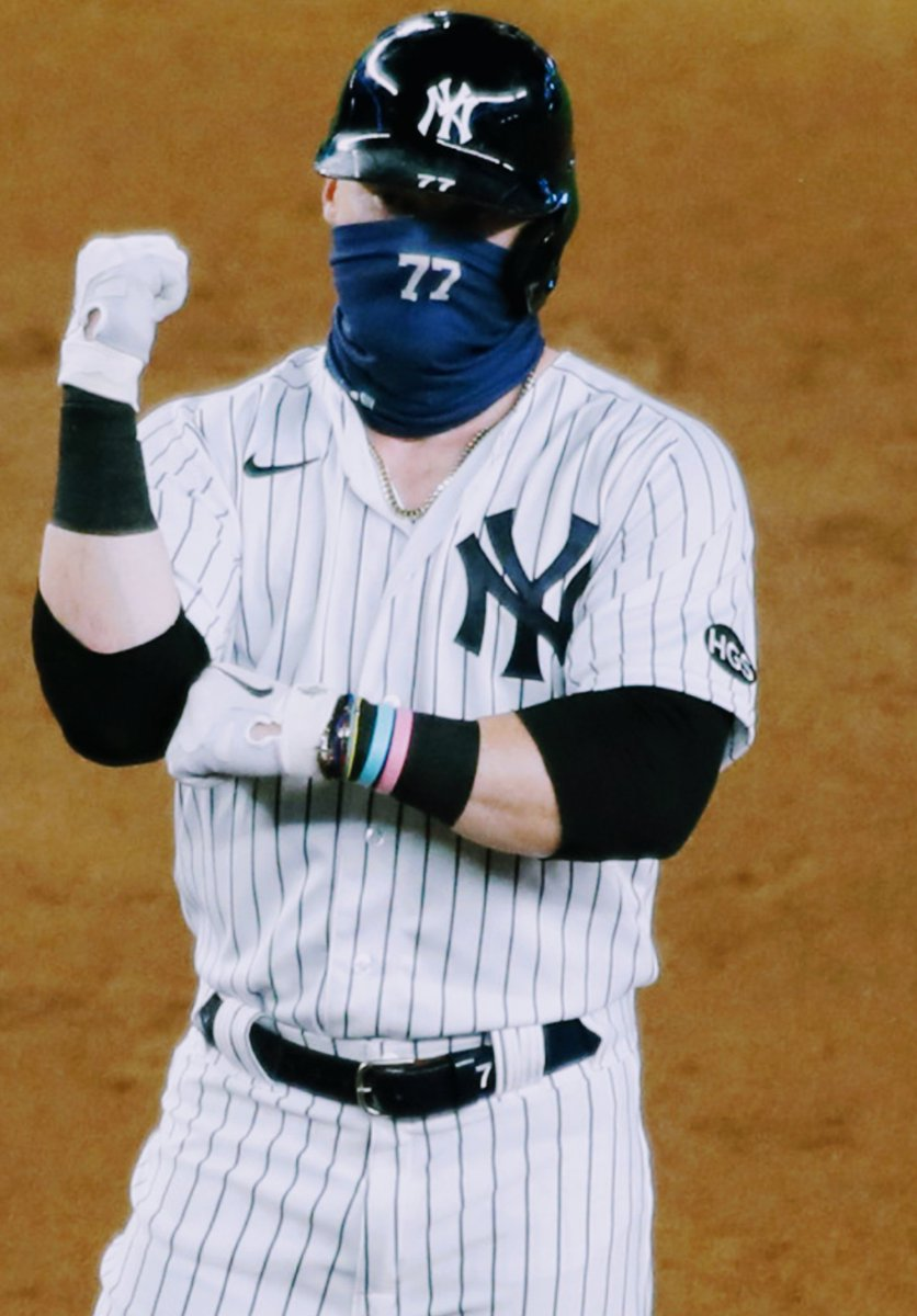 🟥⚡😷  #FearTheMask #NYYforNY  #RedThunder https://t.co/ohvhxAoP5J