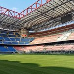 Image for the Tweet beginning: Started at San Siro Stadium
