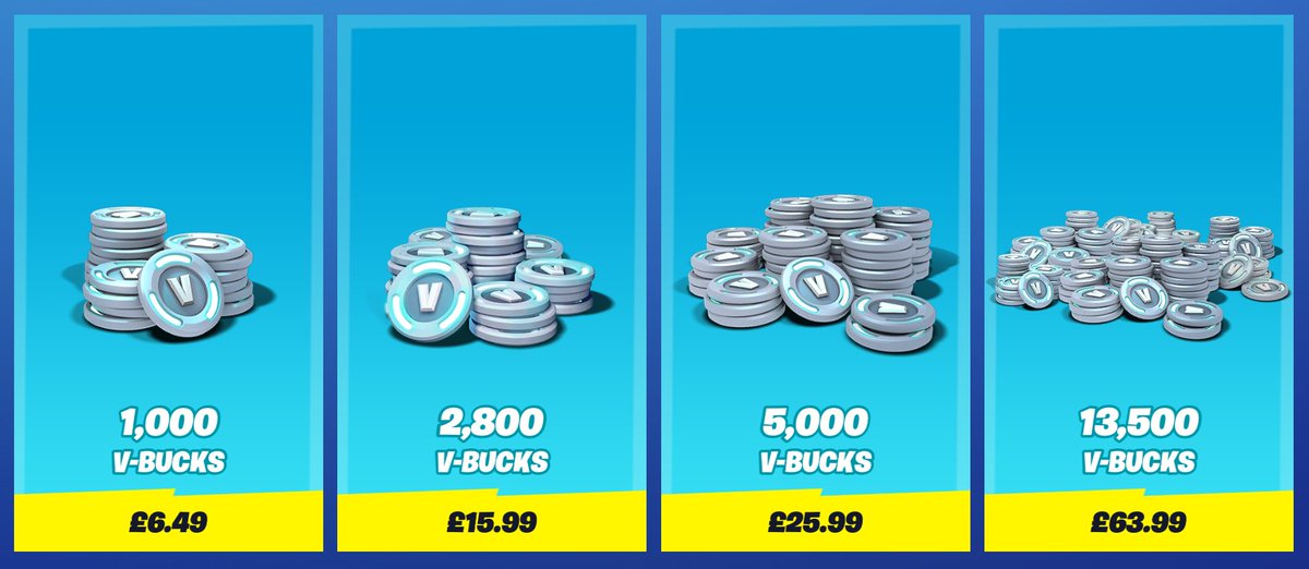 Fortnite News On Twitter Starting Today V Bucks Prices Have Permanently Been Dropped By Up To 20 1 000 V Bucks 7 99 Sales Tax More Details Https T Co 7xjqc5fcfr Https T Co Jp0lrzxho8 Fortnite vbucks codes for free. v bucks prices