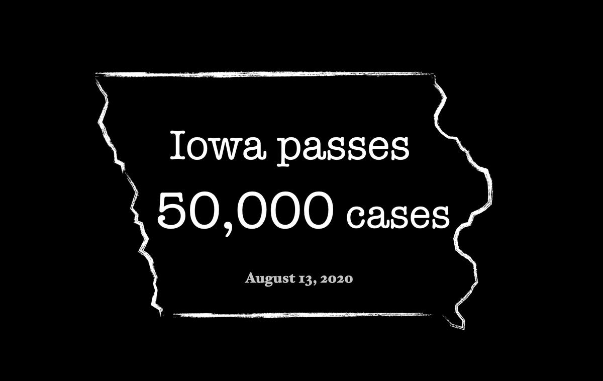 SPECIAL UPDATE: IOWA passes 50,000 cases #Iowahurricane #IowaStorms #iowa #IowaStrong #IowaDerecho #COVID19 #coronavirus #covidkim