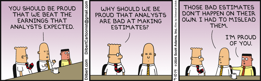 """India Equity Research on Twitter: """"86% lower EBITDA vs estimates Eicher  management must start reading Dilbert!… """""""