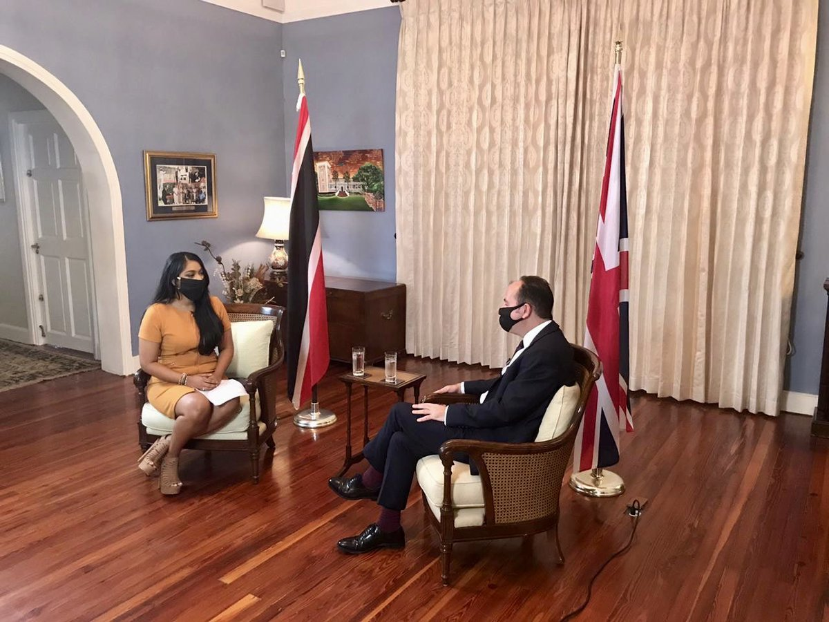 ❝This country is so full of talent...a wealth of talent.❞  Sitting down today with at Bavita Gopaulchan to share a little about my time in T&T 🇹🇹  Many thanks to the @CNC3TV team for their support over the years. https://t.co/bQKUZy1fQ4