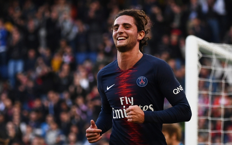 Adrien #Rabiot, central midfielder, left for free to Juventus in 2019 (24 years old), now his value is around 25 mln. https://t.co/ftekWuxQ3J