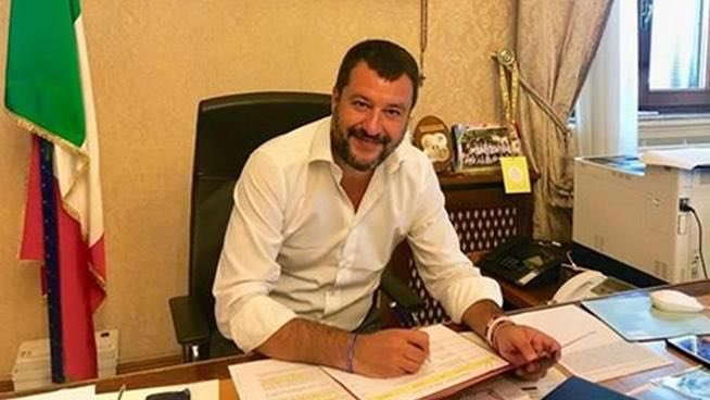 #SalviniAlViminale