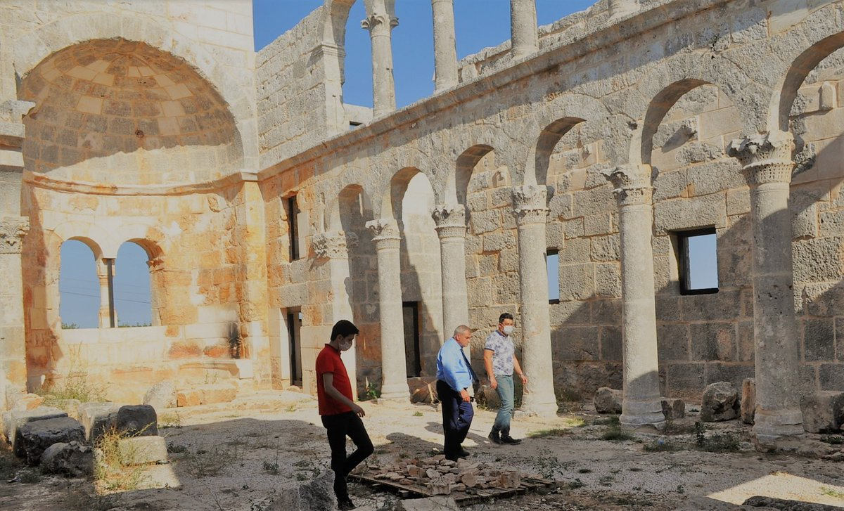 İl Müdürümüz @emreduru33 Turizm Destinasyon rotası üzerinde bulunan Cambazlı Kilisesinde de incelemelerde bulundu. Restorasyonu tamamlanan Cambazlı Kilisesi, benzer özellik gösteren yapılar arasında en iyi korunanlardan biridir. #MersinKulturveTurizm @MehmetNuriErsoy @lutfielvan https://t.co/VbGZpmVrbW