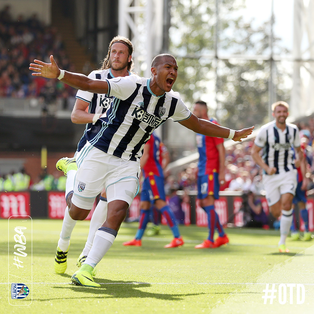 This away day. 😍  @salorondon23's glancing header secured three @premierleague points at Palace on the opening day of the 𝟤𝟢𝟣𝟨/𝟣𝟩 campaign. 🗓  #OTD | #WBA https://t.co/NkwtXOJ6j1