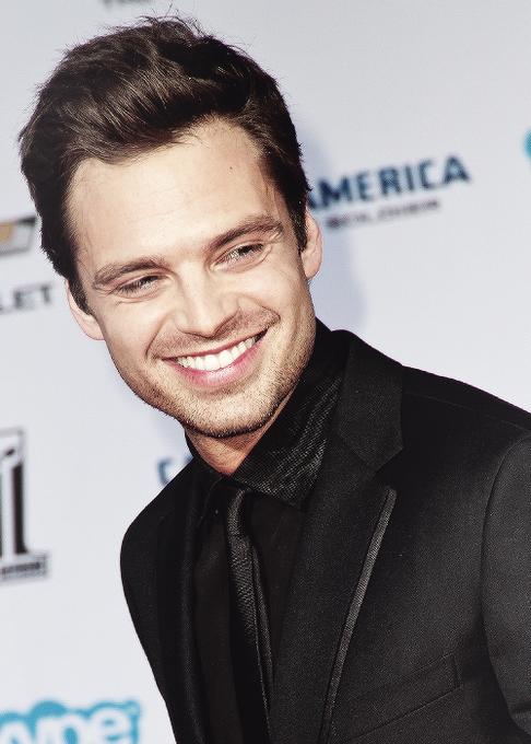 Happy Birthday, Sebastian Stan, The Winter Soldier, whose smile brings us summer.
