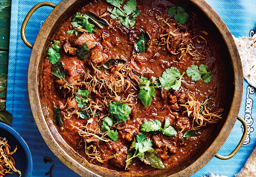 Recipe of the week: @shelinacooks's Mauritian mutton curry, taken from Community Comfort, by @riazphillips thecaterer.com/products/recip…