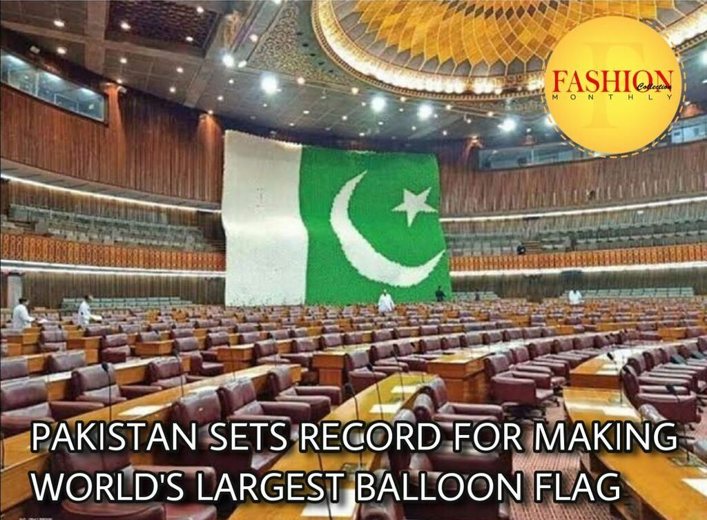 Pakistan has won the world record for preparing the largest national flag using balloons. . #Fcmag #pakistan #world #record #ig #happy #August #family #update #click #2020 https://t.co/yUlXeQaUVt https://t.co/gh0BcYR1Rq