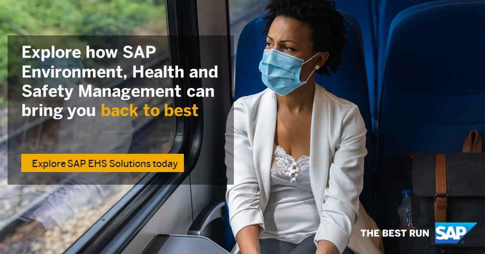 SAP EHS Management helps to make #operations safer & safeguard operational continuity.   Find out how it can safely help your employees go back to work: https://t.co/B78cnts1gT https://t.co/A4kKx6RIXM