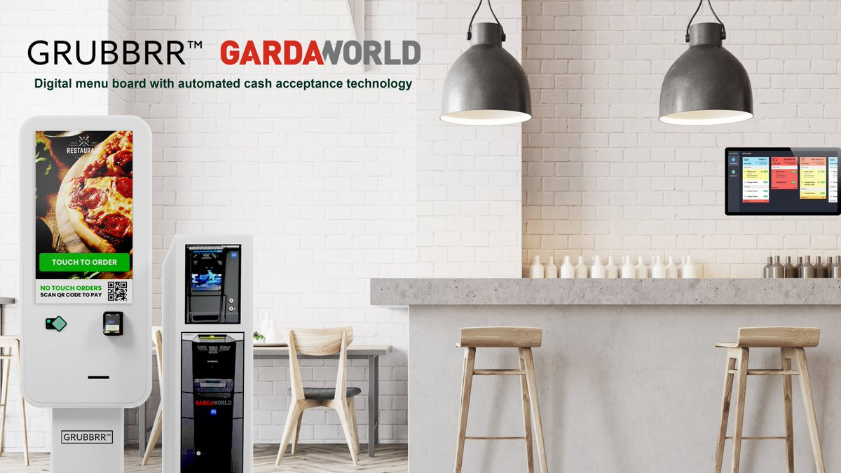 During these circumstances, payments must be processed faster and more securely. GRUBBRR and GardaWorld Cash Services have brought to market a self-service kiosk with integrated currency and coin acceptance devices. Read more about this in Nilson's report: https://t.co/4TjsYC5OHk https://t.co/CL3X9KTjn4