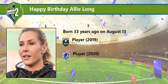 Happy Birthday Allie Long Player bio: